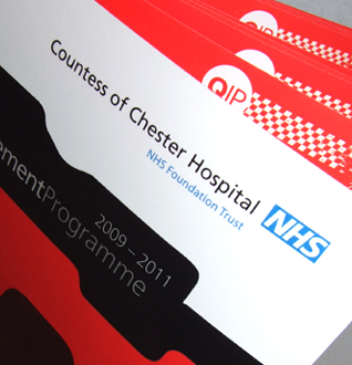 NHS Countess Of Chester Hospital Graphic Design Project