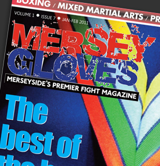 Mersey Gloves Magazine Logo Design