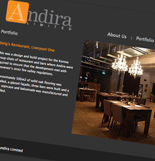Andira Web Design Project