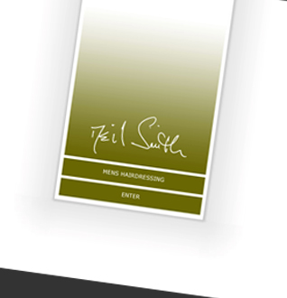 Neil Smith Hair Web Design Project